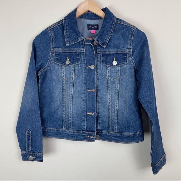 The Children's Place Girls Denim Jacket Large